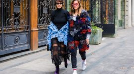 Street style from Fashion week Tbilisi Spring 2018