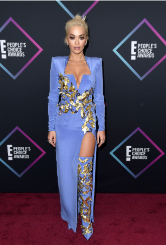 Rita Ora's astounding look at the People's Choice Awards 2018