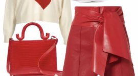 Feeling Red today // Outfit of the Day !!!