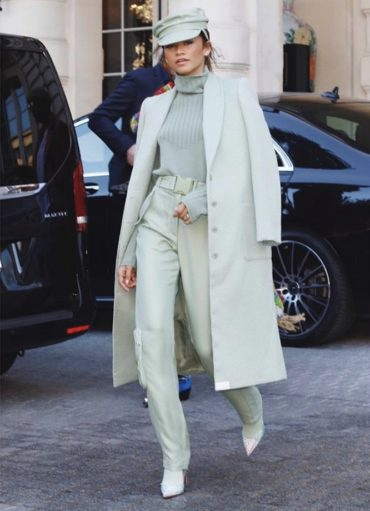 Paris Fashion Week: Zendaya In Sally La Pointe !
