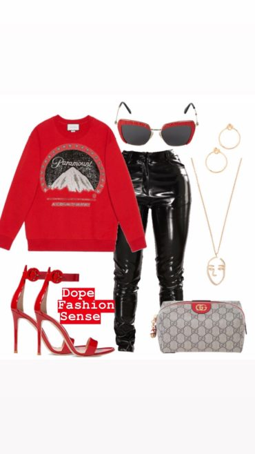Outfit of the day // W/ Gucci