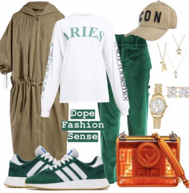 Outfit of the day ! GREEN VIBEZZZ?!?!