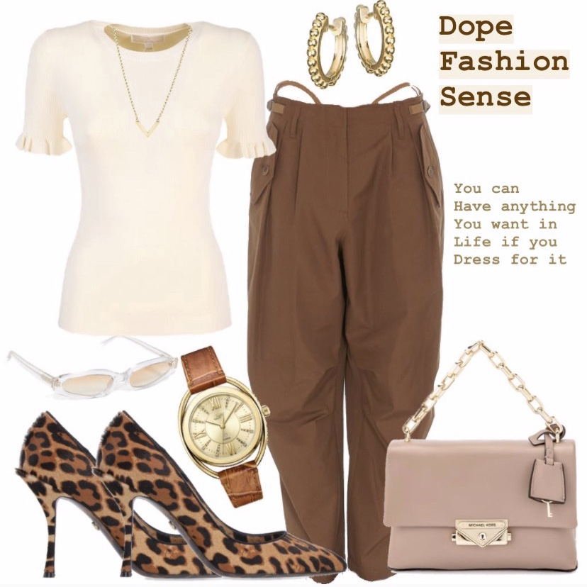 Neutral Fashion Outfit of the Day