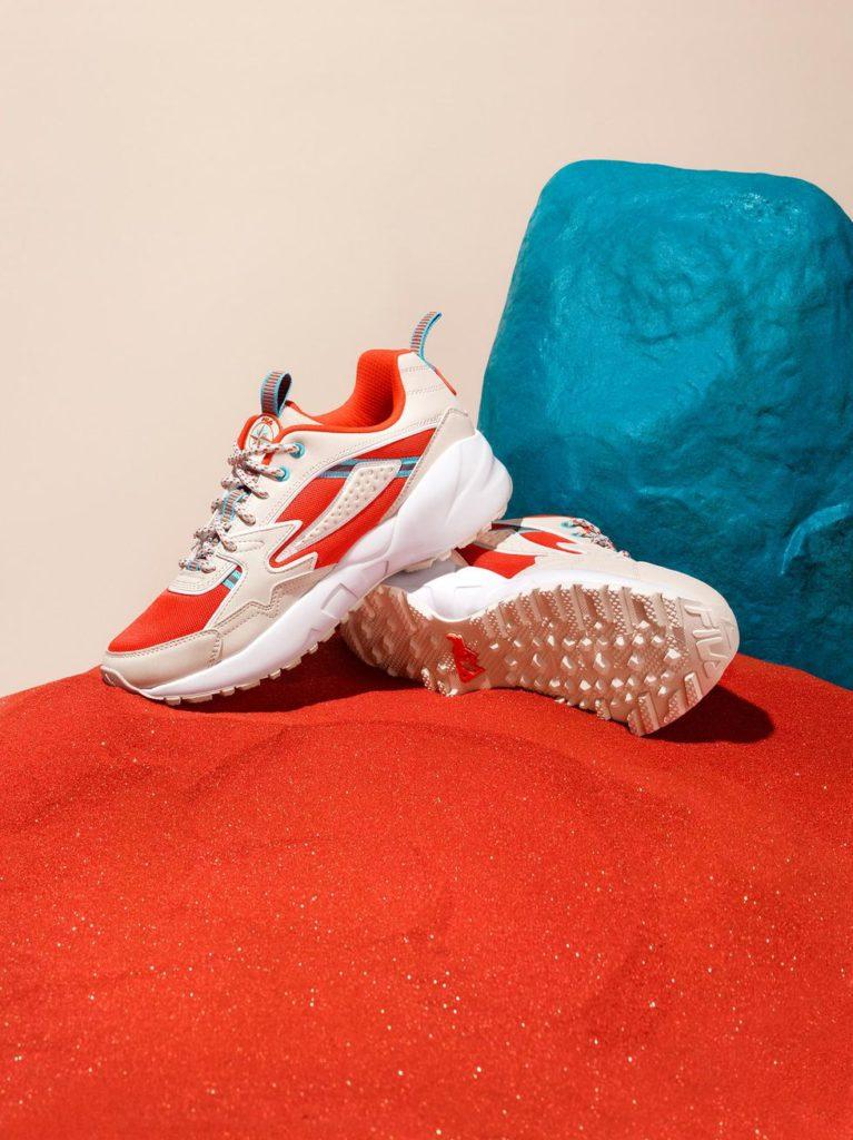 fila orange sneaker