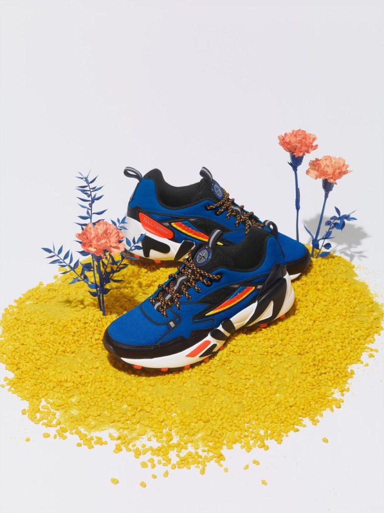 Fila blue sneakers