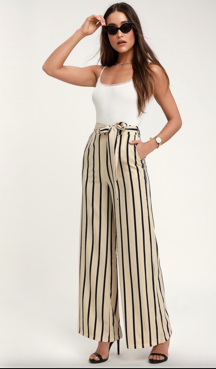 Lulus loose fitting trousers