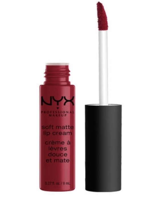 NYX - Soft Matte Lip Cream in Deep Cranberry Red