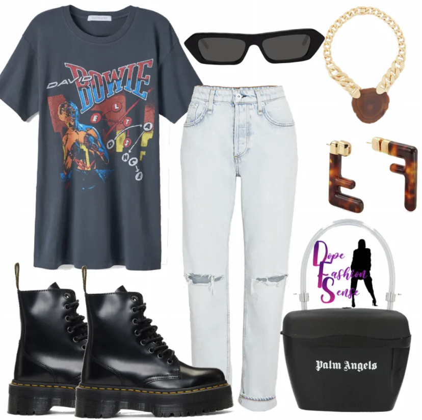 Stylish outfit for the summer. Outfit inspiration. Boyfriend Jeans. Stylish Boyfriend Jeans