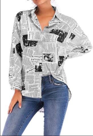 Dope Fashion Sense. blouse. girl standing