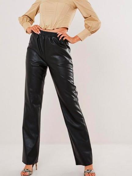 Dope Fashion Sense. Girl standing. black pants.