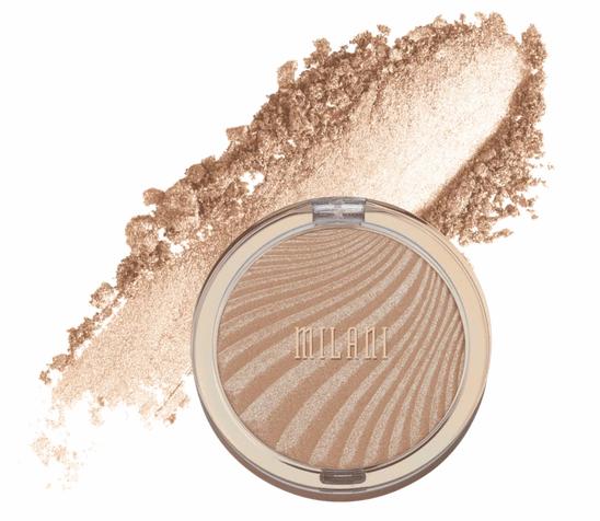 make up for the summer. Milani highlighter. shimmer highlighter.