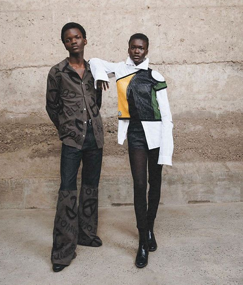 Black owned fashion brands. black owned fashion designers. Telfar