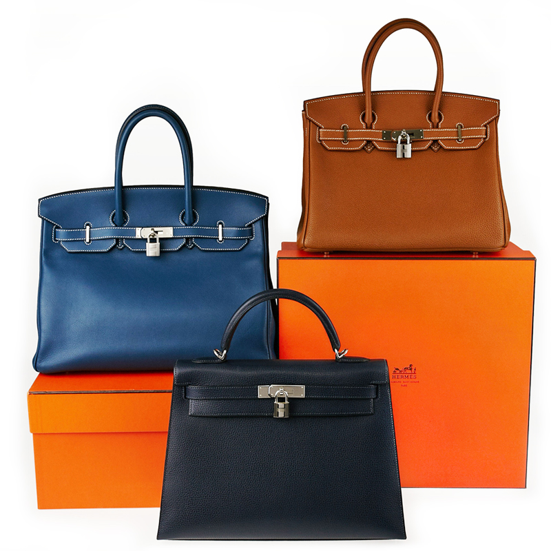 The difference between an Hermes Birkin bag and Kelly bag